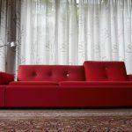 Vitra Polder Sofa XL #Rood - bekleding door meubelstoffeerderij.nl, de partner bekleding en toebehoren van Vitra Nederland